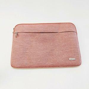 "Lacdo 17"" Laptop MacBook iPad Pro Soft Case Pink"